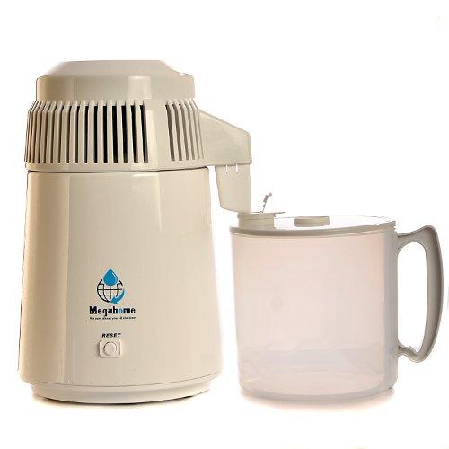 Destilátor vody Megahome - model 1 - bílý s plastovou nádobou