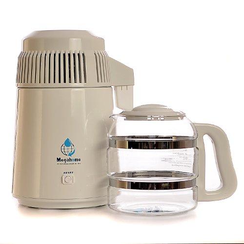 Destilátor vody Megahome - model 2 - bílý se skleněnou nádobou
